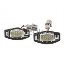 LED Osvetlenie ŠPZ Honda Civic VII Sedan + Hatchback