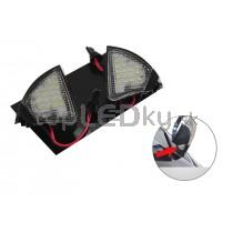 LED svetlo, podsvietenie spätného zrkadla, ľavé a pravé, VW Sharan 05-10