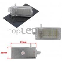 LED Osvetlenie skrinky pred spolujazdcom BMW E81, E82, E87, E88 rad 1