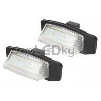LED Osvetlenie ŠPZ  Mitsubishi Outlander II