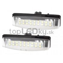 LED Osvetlenie ŠPZ Toyota Camry