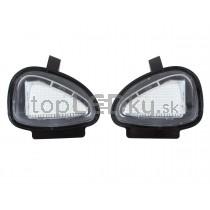 LED svetlo, podsvietenie spätného zrkadla, ľavé a pravé, VW Sharan II