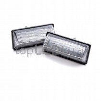 LED Osvetlenie ŠPZ Nissan Tiida Sedan