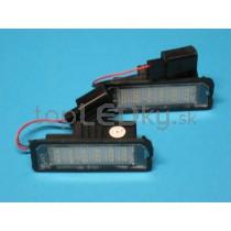 LED Osvetlenie ŠPZ VW Eos, napichovacia verzia